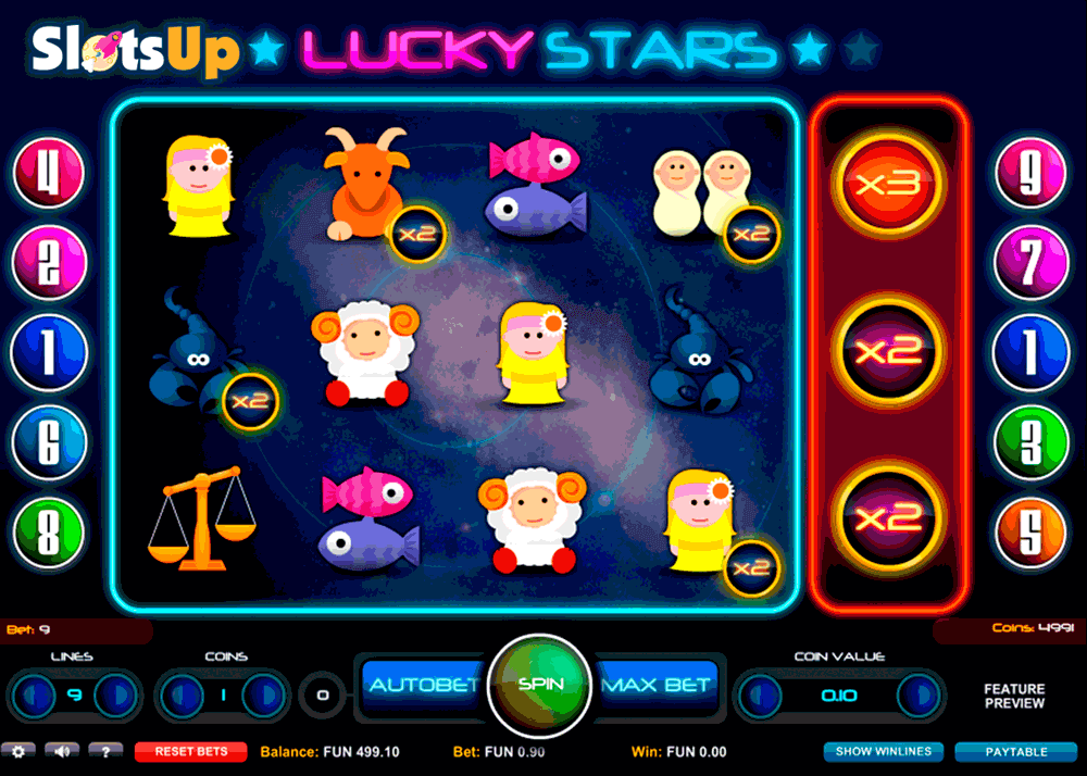lucky stars 1x2gaming casino slots