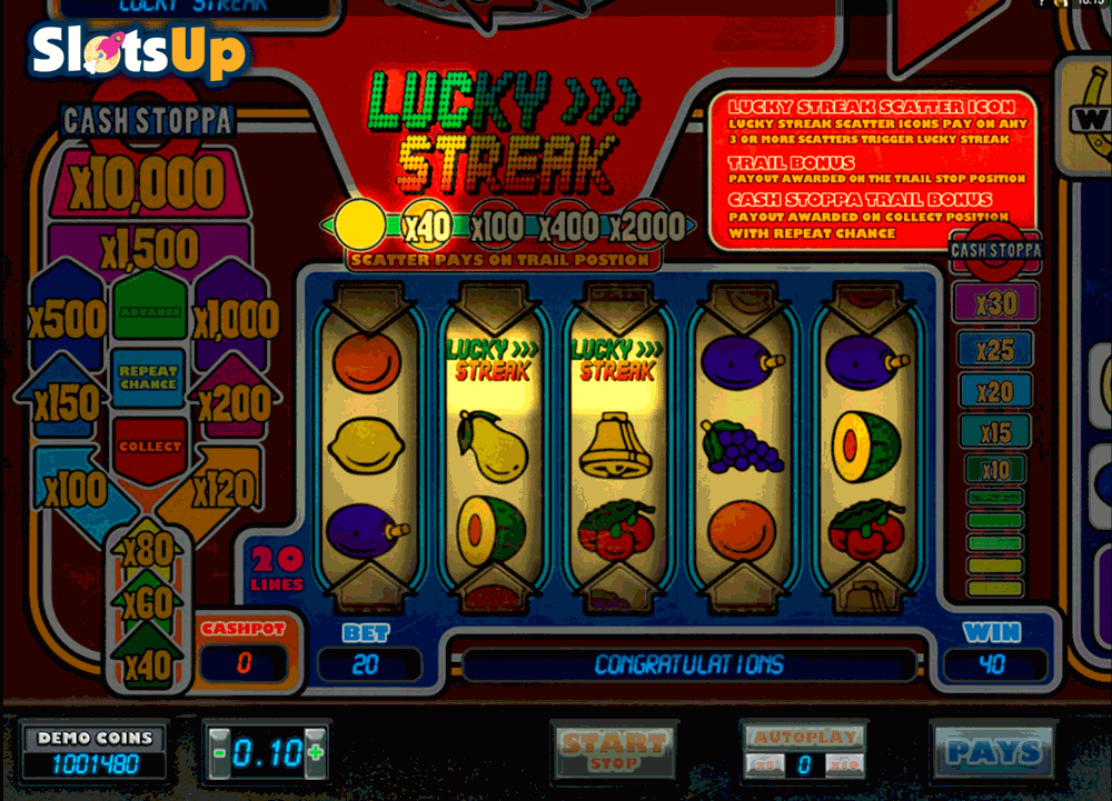 Lady Luck Slot Machine Online ᐈ SkillOnNet™ Casino Slots