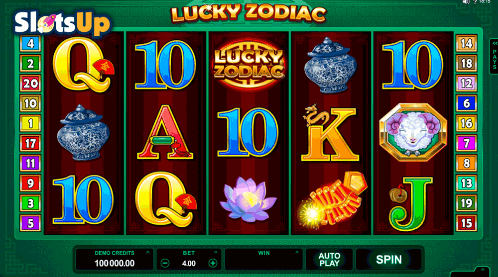 lucky zodiac microgaming casino slots
