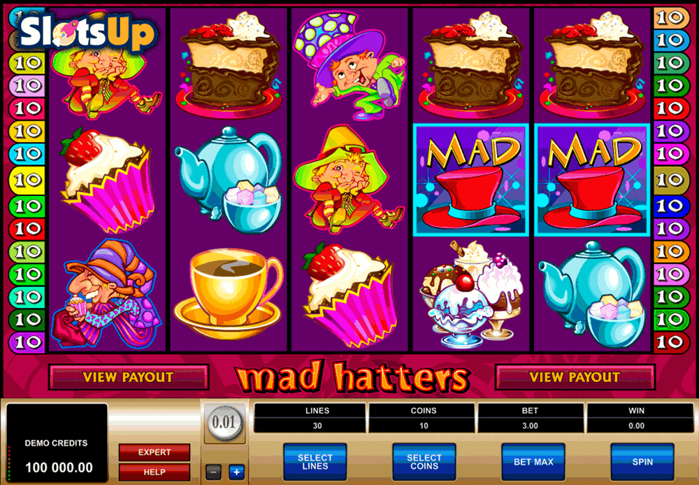 mad hatters microgaming casino slots