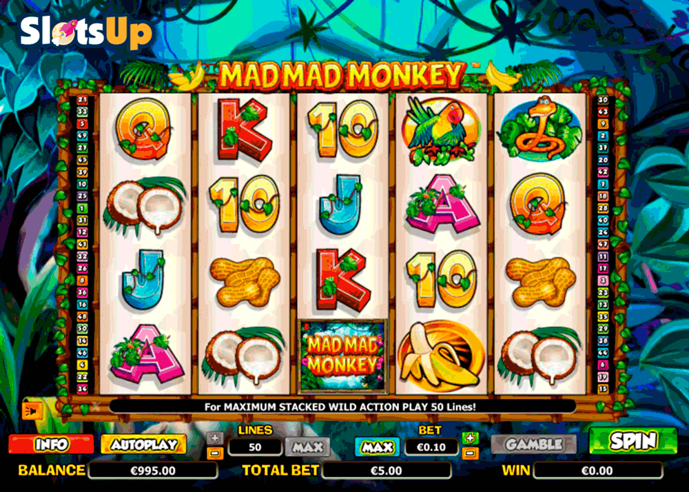 Mad Mad Monkey Online Slots for Real Money - Rizk Casino