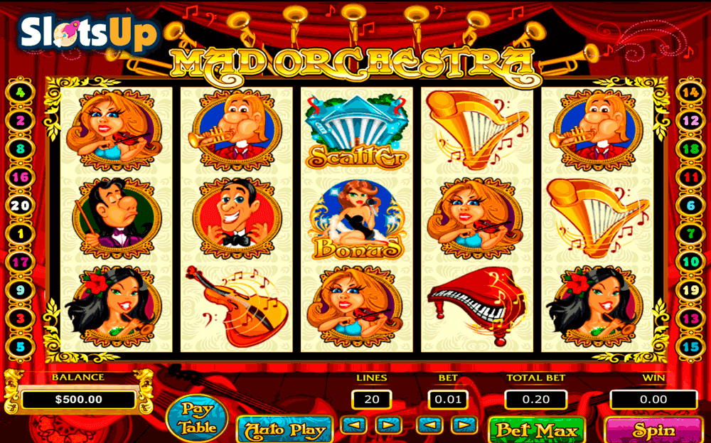 Mad Orchestra Slot Machine Online ᐈ Pragmatic Play™ Casino Slots