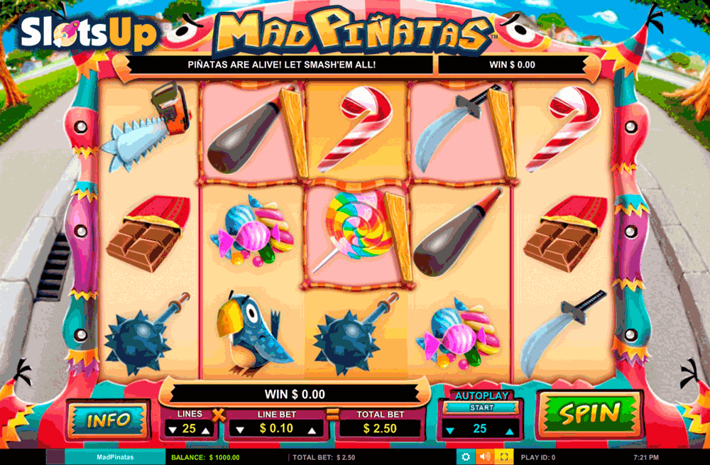 Mad Timer Slot Machine - Play this Simbat Casino Game Online