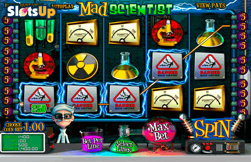 mad scientist betsoft casino slots