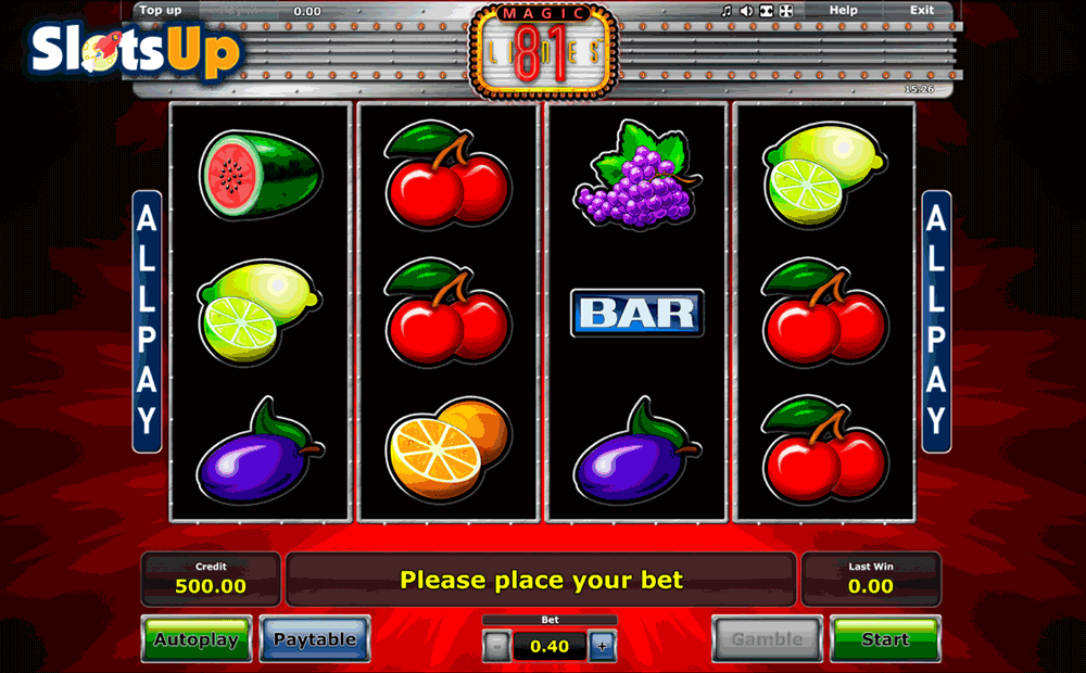 MAGIC 81 NOVOMATIC CASINO SLOTS