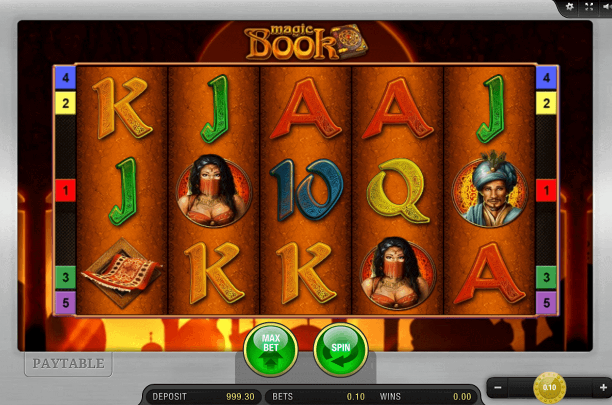 Magic Book™ Slot Machine Game to Play Free in Ballys Online Casinos