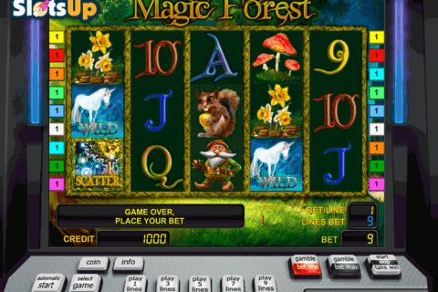 magic forest novomatic