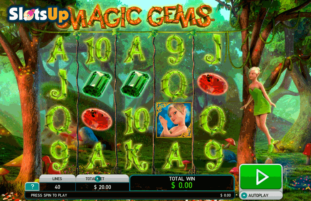 Magic Gems Slot Machine Online ᐈ Leander Games™ Casino Slots