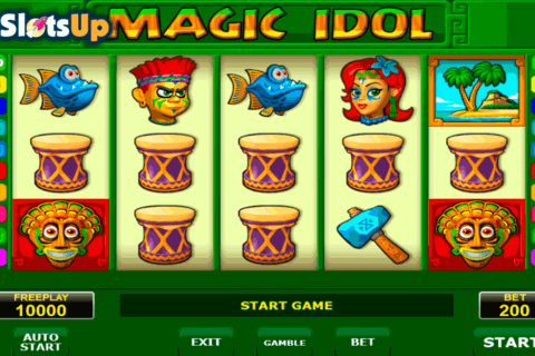 magic idol amatic casino slots