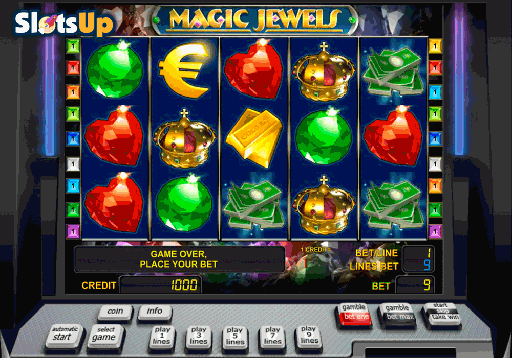 magic jewels novomatic