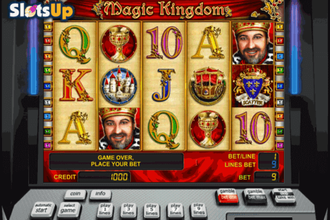 magic kingdom novomatic casino slots 480x320