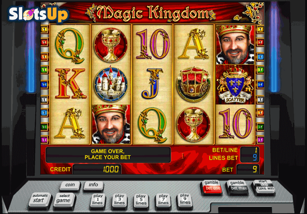 Magic Kingdom™ Slot spel spela gratis i Novomatic Online Casinon