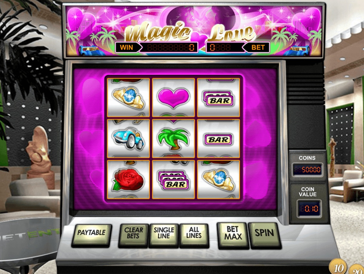 magic love netent casino slots