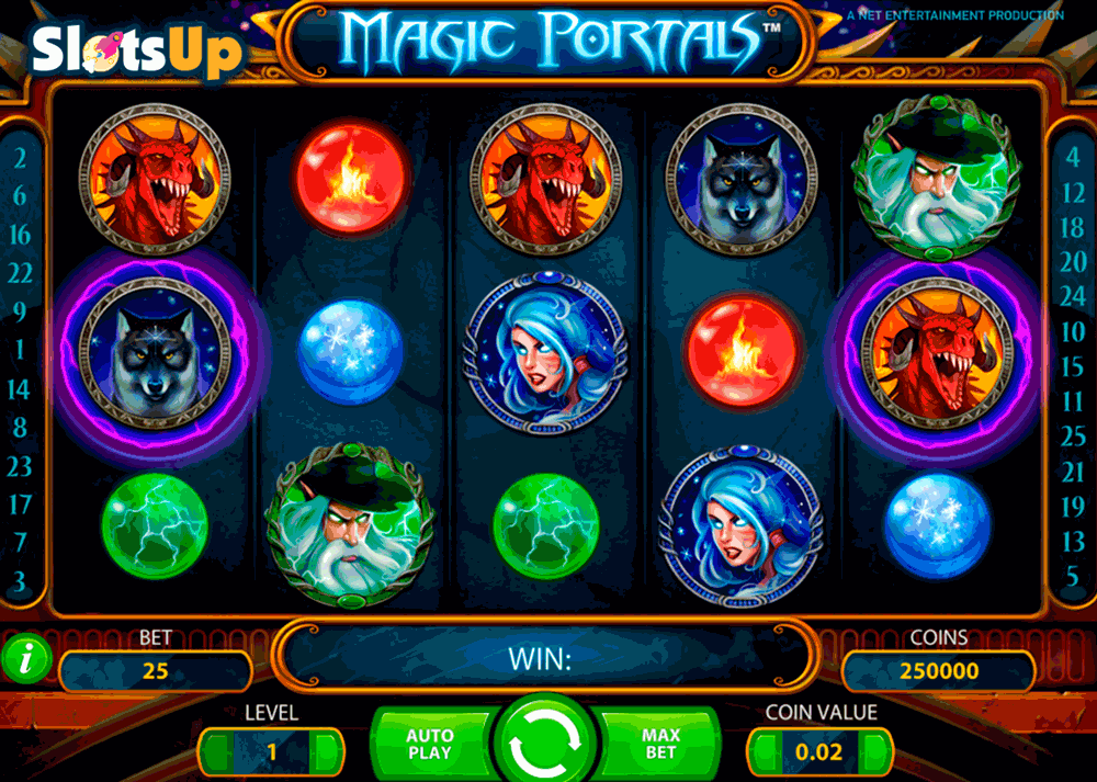 MAGIC PORTALS NETENT CASINO SLOTS