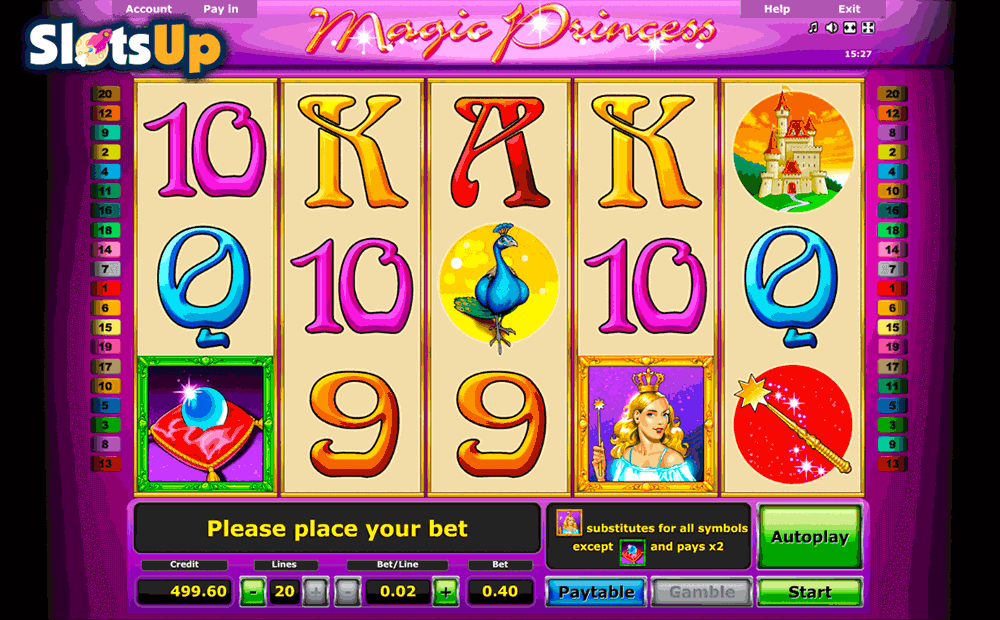 MAGIC PRINCESS NOVOMATIC CASINO SLOTS