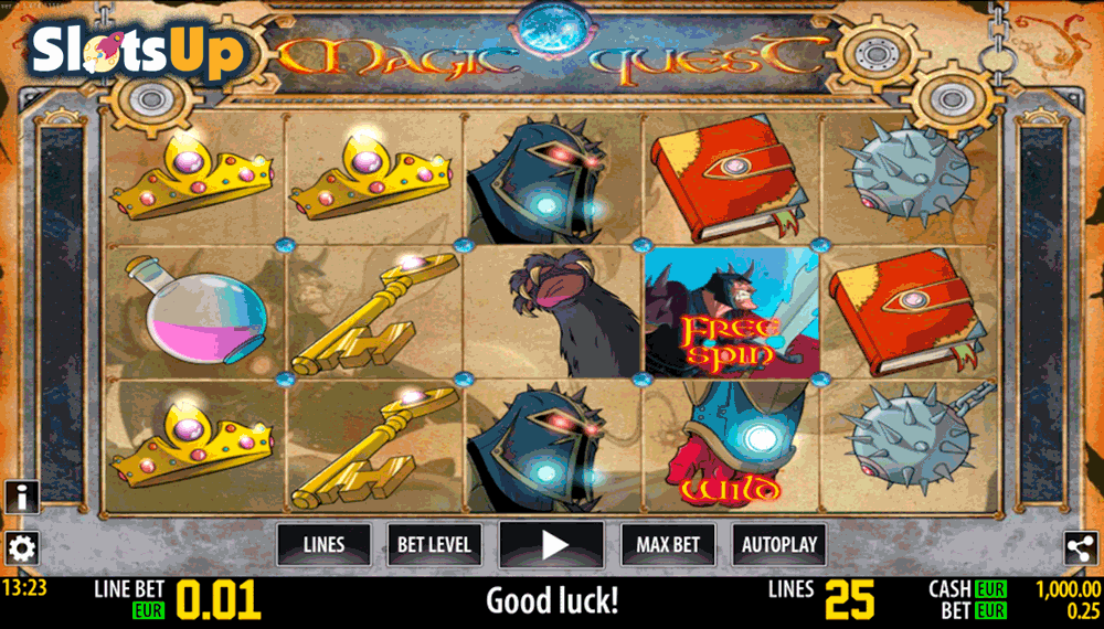 magic quest hd world match casino slots