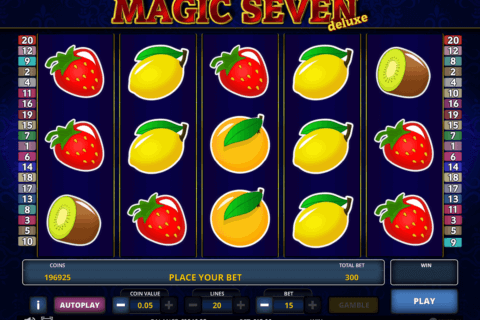 magic seven deluxe zeus play