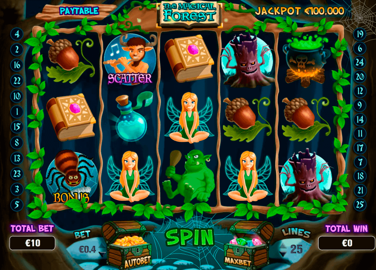 Spiele Magical Forest - Video Slots Online
