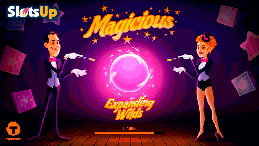 Magicious™ Slot Machine Game to Play Free in Thunderkicks Online Casinos