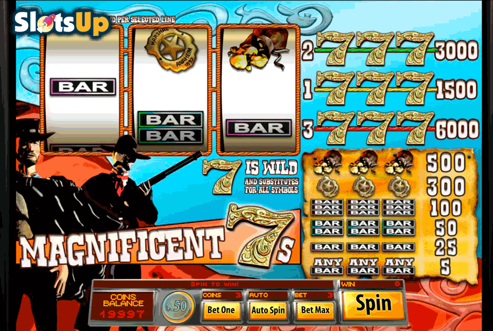 magnificent 7s saucify casino slots