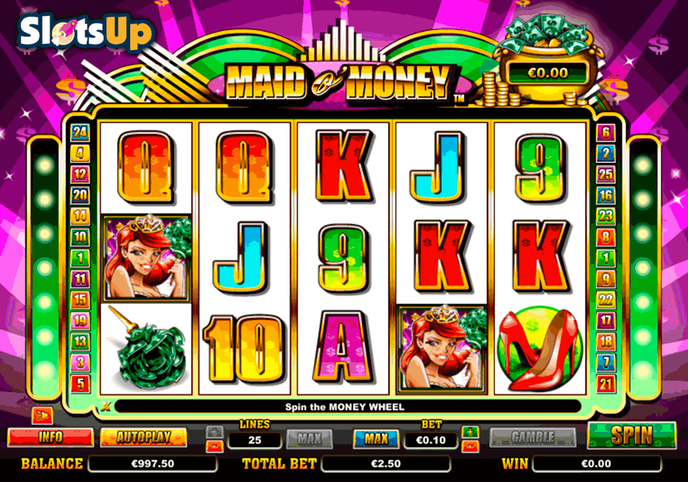 Maid O Money™ Slot Machine Game to Play Free in NextGen Gamings Online Casinos