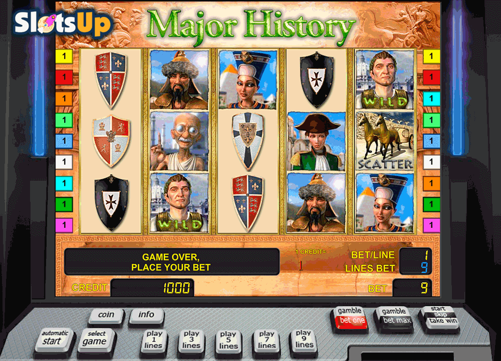 MAJOR HISTORY NOVOMATIC CASINO SLOTS