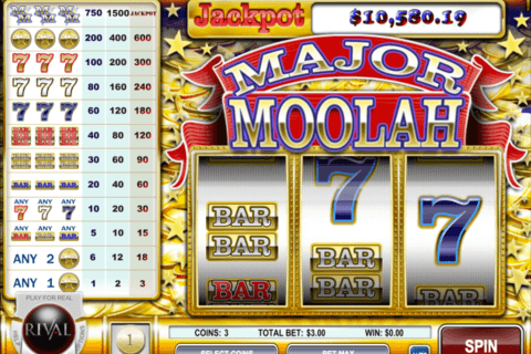 major moolah rival casino slots