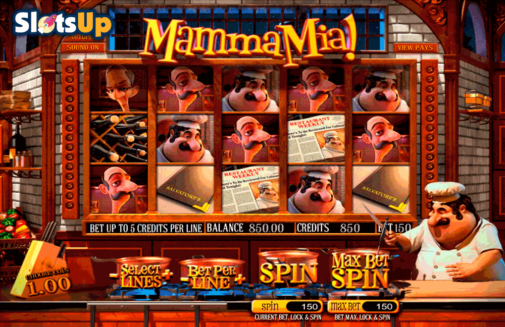 Mamma Mia! Slot Machine Online ᐈ BetSoft™ Casino Slots
