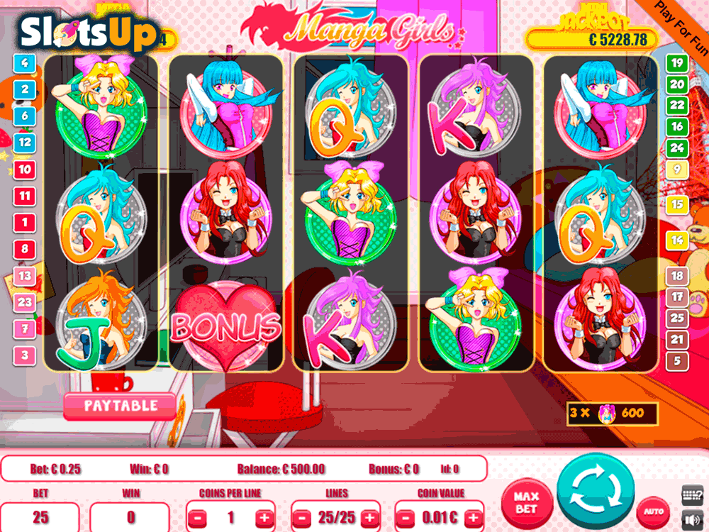Manga Punch Slot - Play Online Video Slots for Free