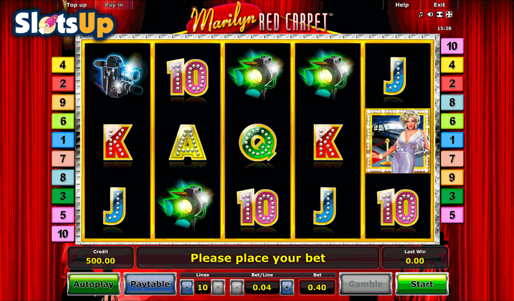 Marilyn Red Carpet Slot Machine Online ᐈ Novomatic™ Casino Slots