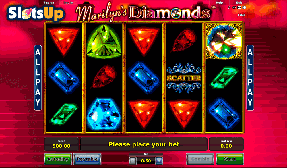Marilyns Diamonds Slot Machine Online ᐈ Novomatic™ Casino Slots