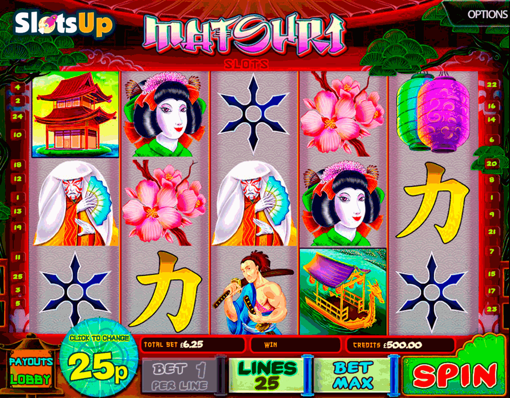 Rising Sun (5 reels)™ Slot Machine Game to Play Free in Saucifys Online Casinos