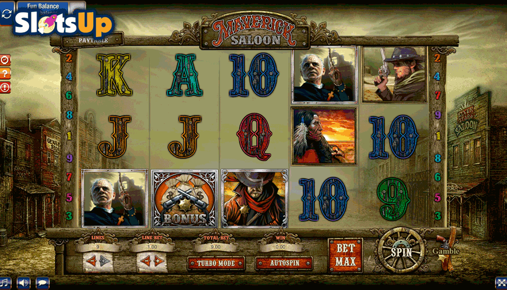 Maverick Saloon Slot Machine Online ᐈ GamesOS™ Casino Slots
