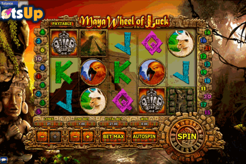 maya wheel of luck gamesos casino slots 480x320