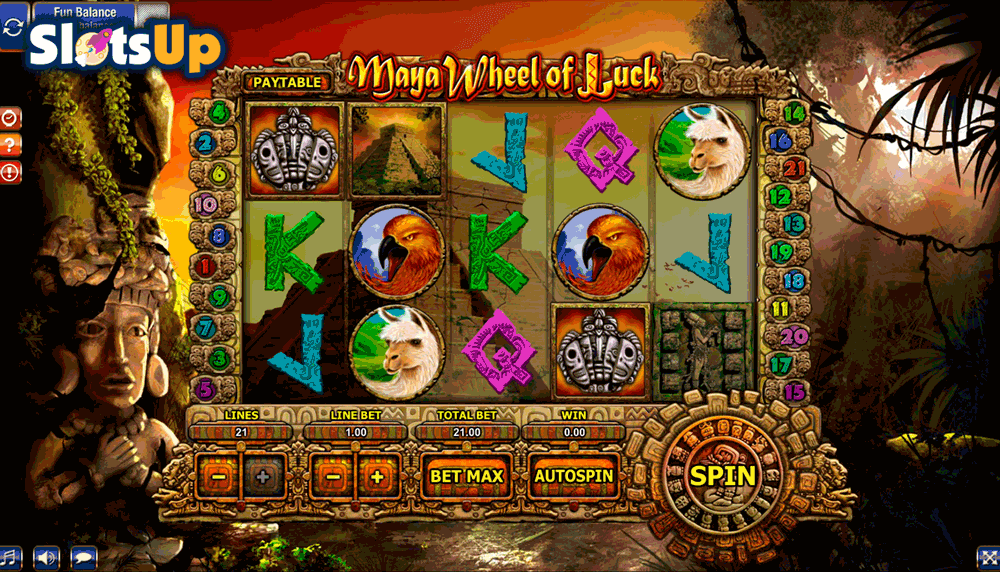 Maya Wheel of Luck™ Slot Machine Game to Play Free in GamesOS iGamings Online Casinos