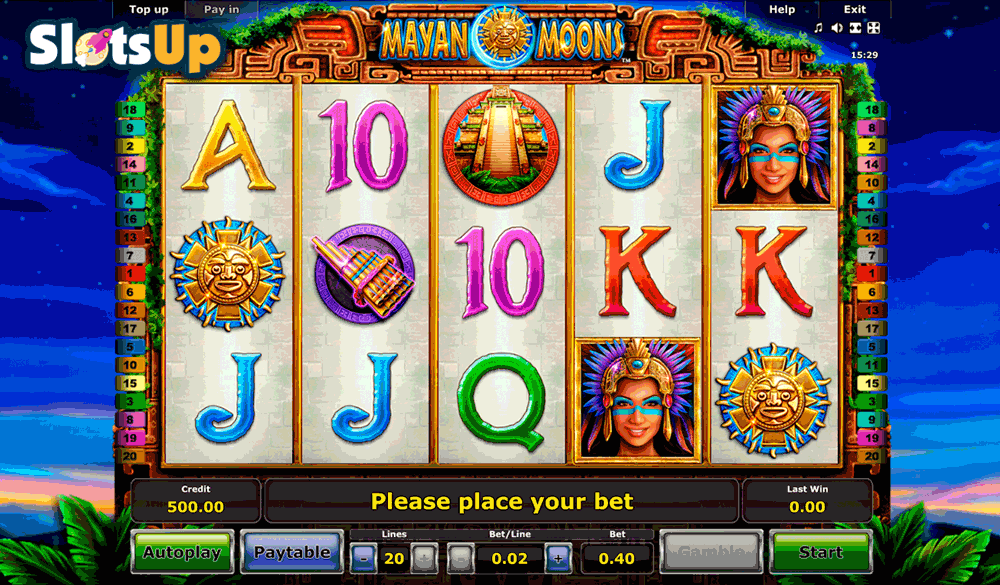 Mayan Moons Slot Machine Online ᐈ Novomatic™ Casino Slots