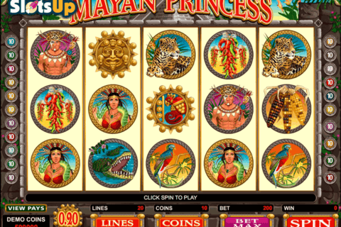 mayan princess microgaming casino slots 480x320
