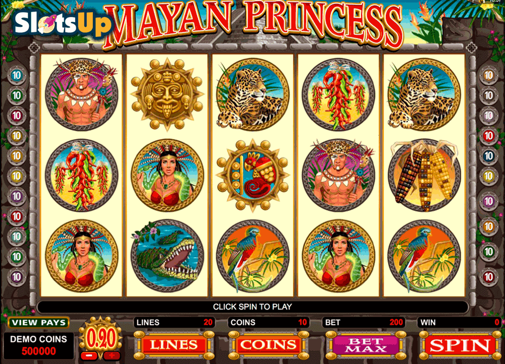 Mayan Princess Slot Machine Online ᐈ Microgaming™ Casino Slots