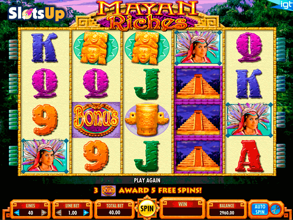 Mayan Riches Slot Machine Online ᐈ IGT™ Casino Slots