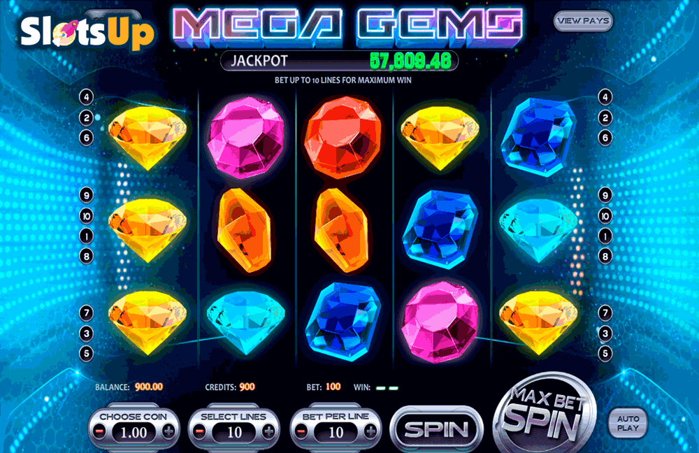 Mega Gems Slot Machine Online ᐈ BetSoft™ Casino Slots