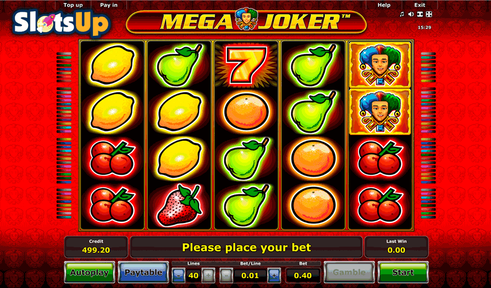 online casino games mega joker