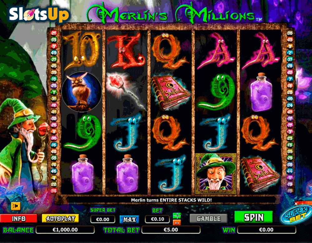 MERLINS MILLIONS SUPERBET NEXTGEN GAMING CASINO SLOTS