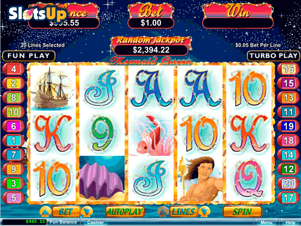 MERMAID QUEEN RTG CASINO SLOTS
