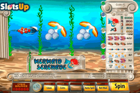 mermaid serenade saucify casino slots 480x320