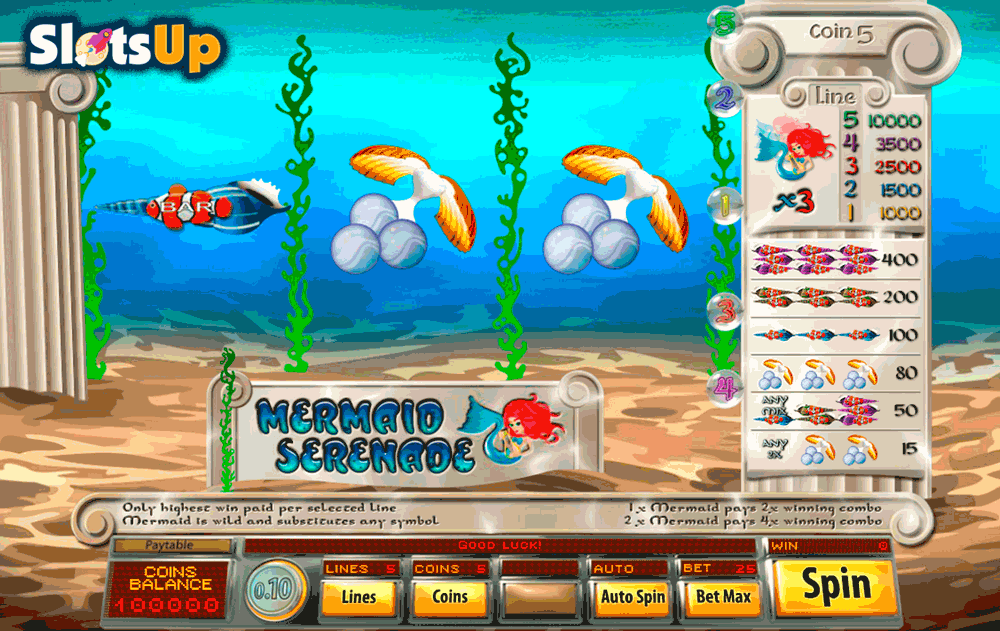 Mermaid Slot - Play Spadegaming Slots Online for Free