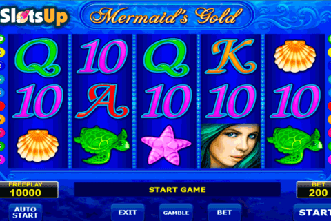 mermaids gold amatic casino slots 480x320