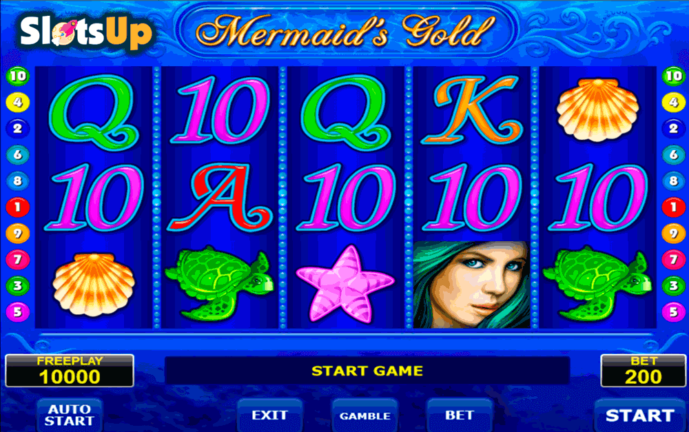 MERMAIDS GOLD AMATIC CASINO SLOTS