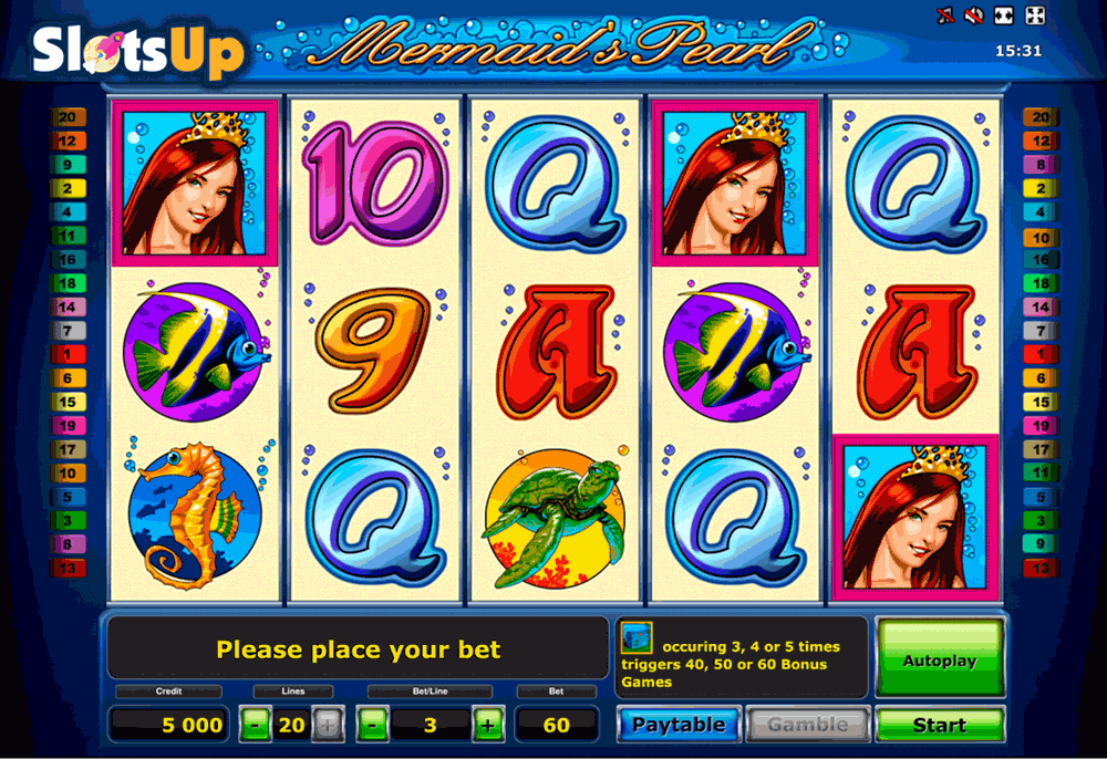 Ocean Pearls Slots - Play the Neogames Casino Game for Free