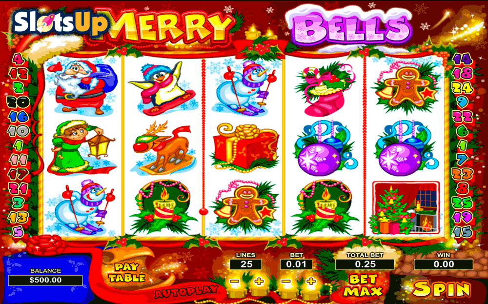 Jingle Bells Slot Machine - Free to Play Online Casino Game