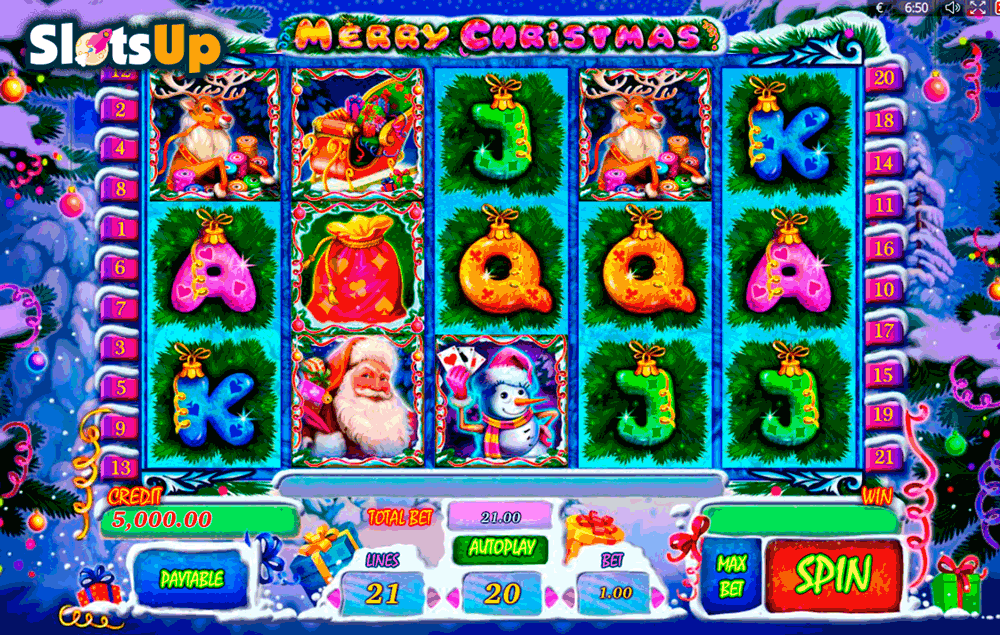 merry christmas playson casino slots